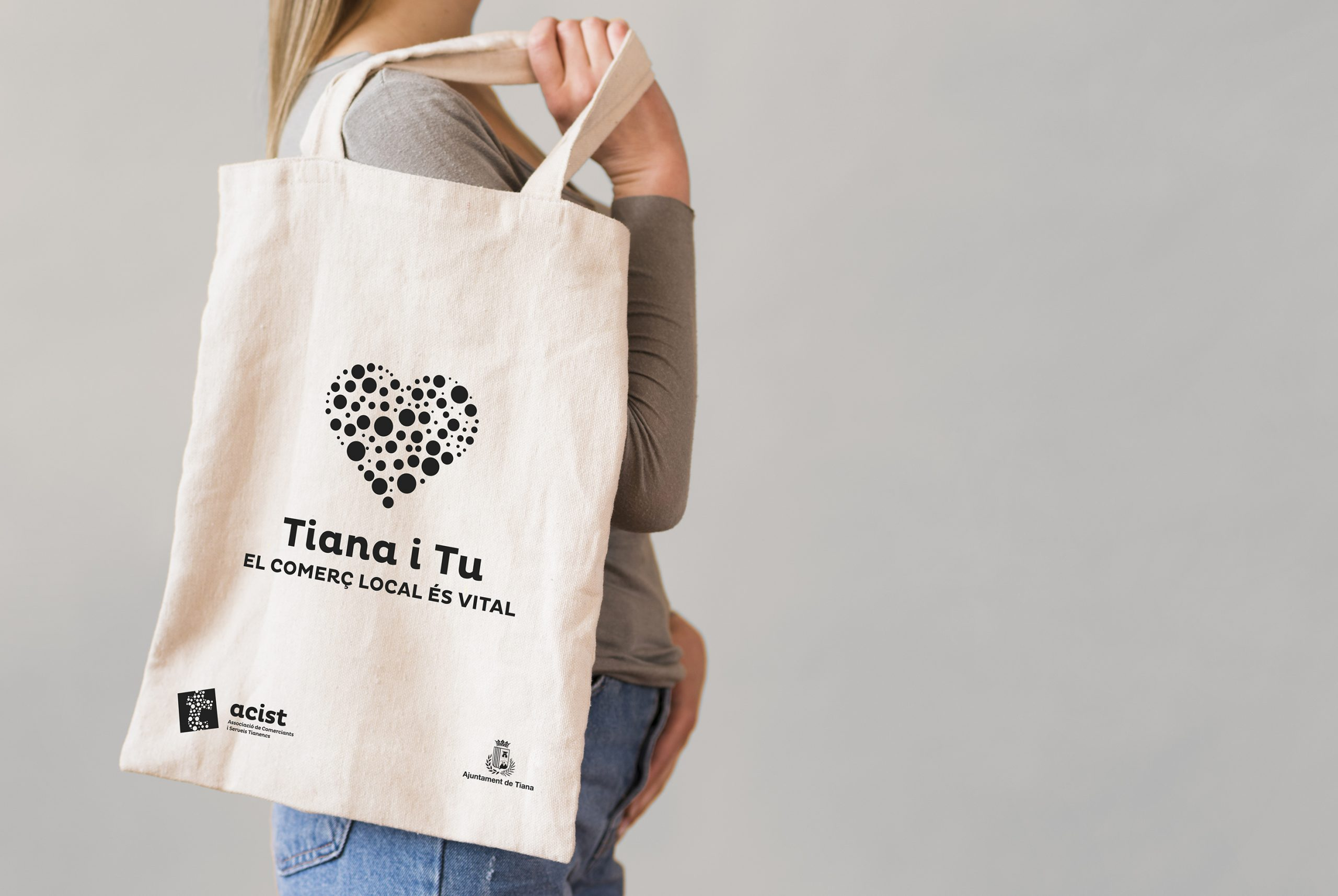Campanya ACIST - Tiana i tu totebag